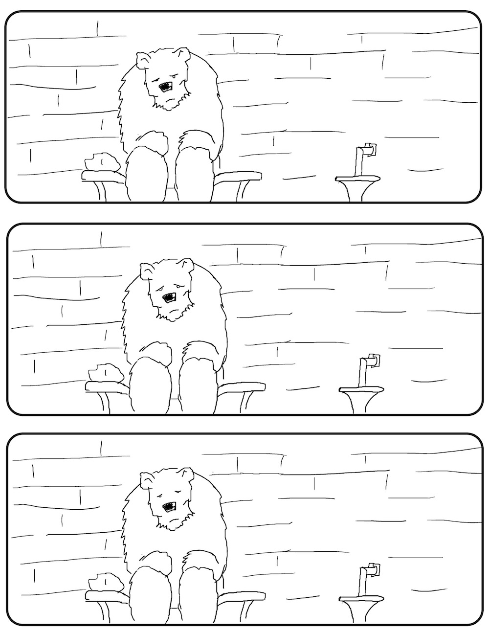 """Susan Koefod: """"AND THEN THE BEAR... #1"""" By Anthony D'Aloia"""